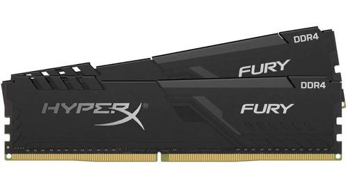 Imagem 1 de 5 de Memórias Hyperx Fury 32gb (2x16gb) Cl18 Ddr4 3600mhz