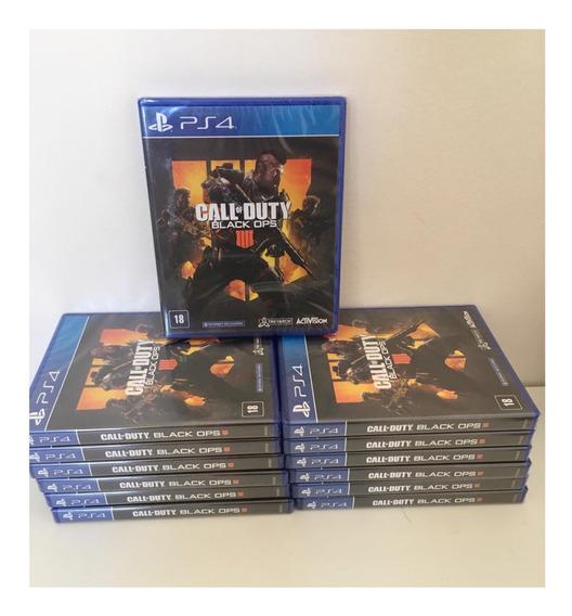 Jogo Call Of Duty Black Ops 4 Cod Bo4 Midia Fisica Ps4