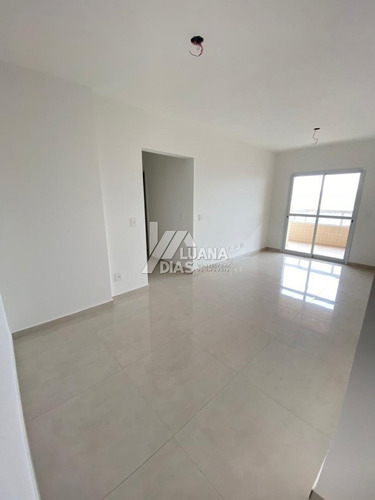 Apartamento A Venda No Bairro Guilhermina - Praia Grande, Sp - Dg07309