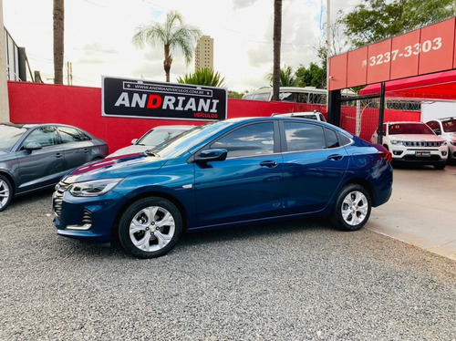Chevrolet Gm Onix Sedan Plus Premier 1.0 Turbo Azul 2020