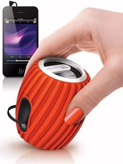 2 Caixa De Som Philips Speaker Bt-50 Original Nova