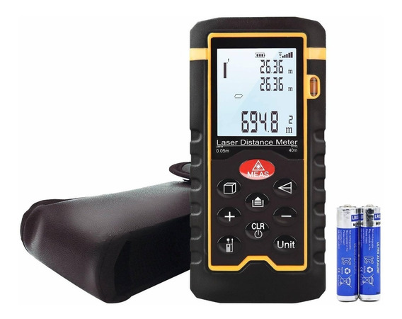 Laser Distance Meter, Handheld 196ft Laser Measuring Of Dist