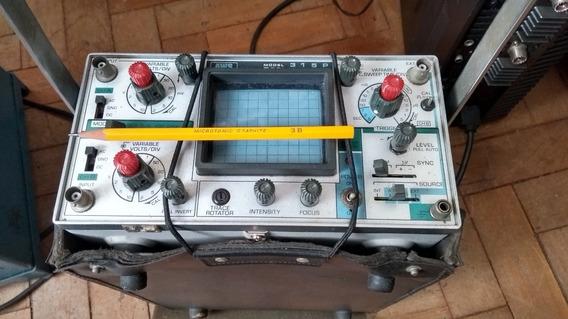 **scope Aws (usa) 15mhz, Bateria/127v,capacouro, Duplo,show!