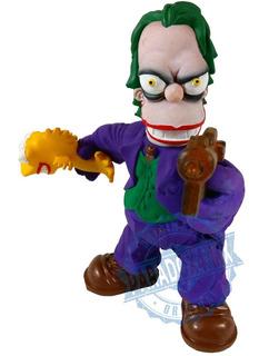 Parodia Homero Guason El Joker Los Simpson Nueva 18 Cm!