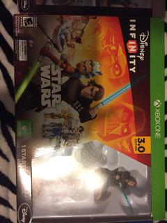 Disney Infinity Con Stand 3 Figuras Y Juego Para Xbox Ps3