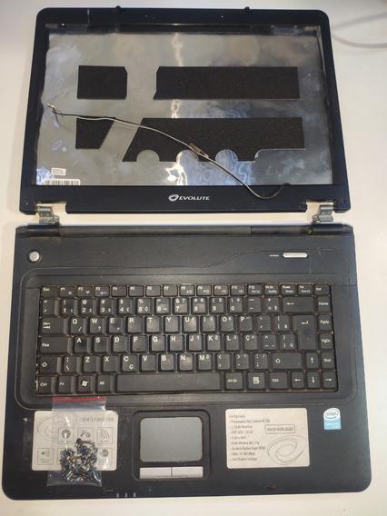 Carcaça Completa Do Notebook Evolute Sfx25 #3046