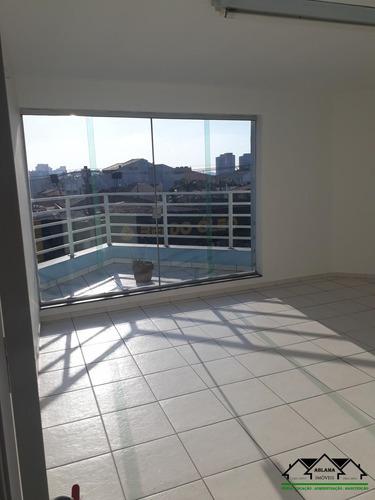 Sala Comercial Com 20.6 Mt² Em - Santa Terezinha -  Santo André/sp - Abcm0015