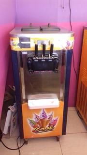 Maquina De Helados Soft Bql40 (funcionando)