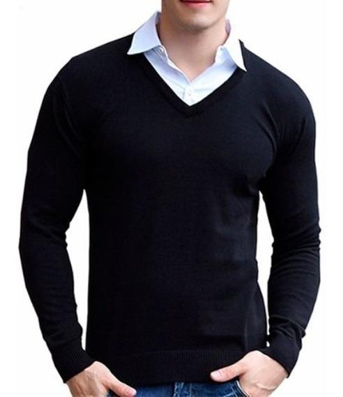 Sweater Pullover Hombre * Christian Dior* V Bremer Lana ****
