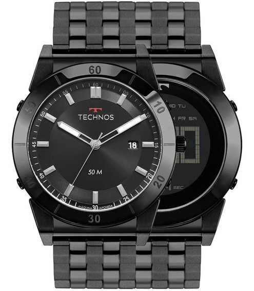 Relógio Masculino Technos Coleção Curvas 1s13cr/4p