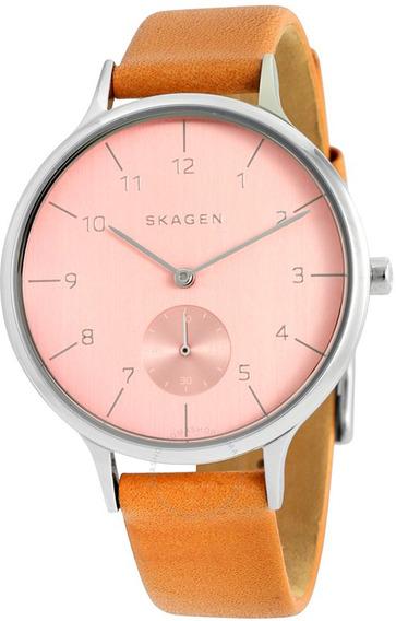 Relógio Skagen Couro - Skw2406/0ti