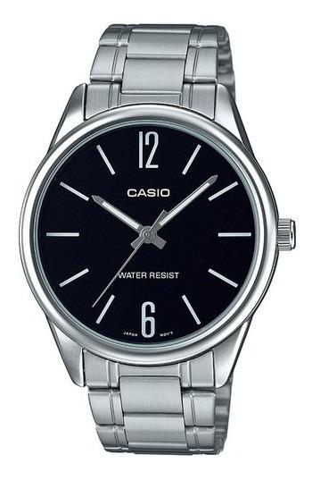 Relógio Casio Original Masculino Prateado Mtp-v005d-1budf