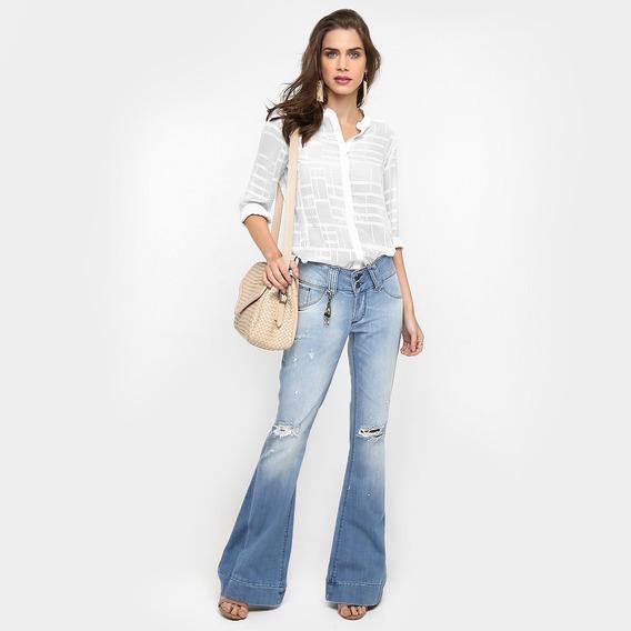 Calça Flare Maravilhosa Jeans 38