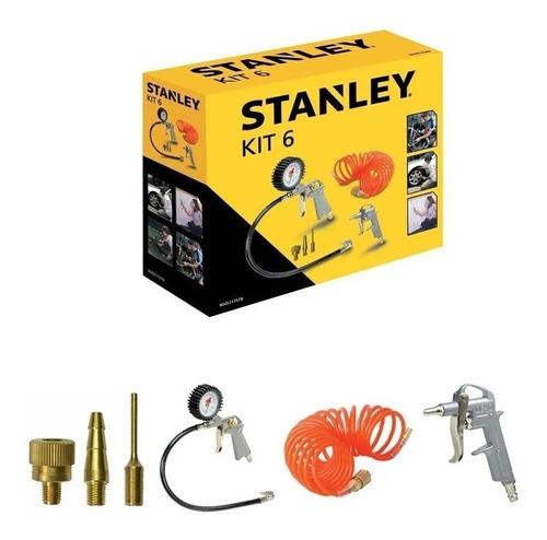 Kit Para Compresor Stanley 6 Piezas Fs