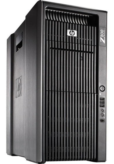 Workstation Hp Z800 2 Proc Xeon Sixcore 72gb + Nvidia Quadro