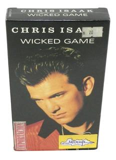 Cinta Vhs Musical Chris Isaak Original Como Nueva