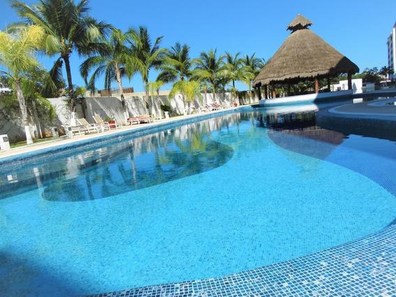 Se Renta Este Hermoso Departamento En Cancún, Muy Bien Ubicado. En Promo!