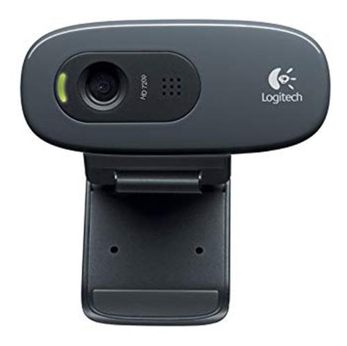 Imagen 1 de 3 de Camara Web Cam Logitech C270 720p Hd Twitch Skype