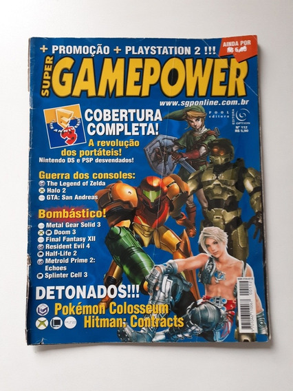 Revista Super Game Power,pokémon Colosseum.
