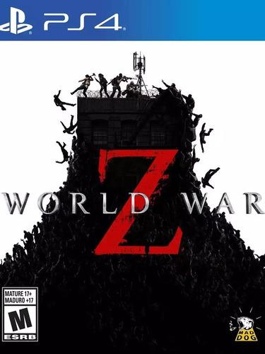 World War Z Ps4 Recibí Hoy!  Princ - 1°