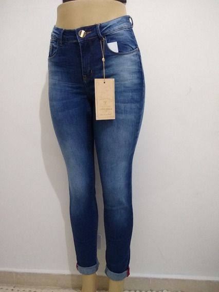 Calça Consciencia Jeans Levanta Bumbum Cintura Média