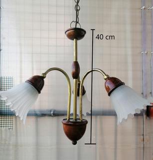 Lampara Tipo Araña + 2 Veladores - Lampara 3 Luces