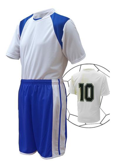 Camisa Calcao E Meiao De Futebol Fardamento - Kit 15 Pçs
