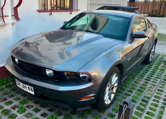 Ford Mustang Gt Coupe 2.4 Gris 2010
