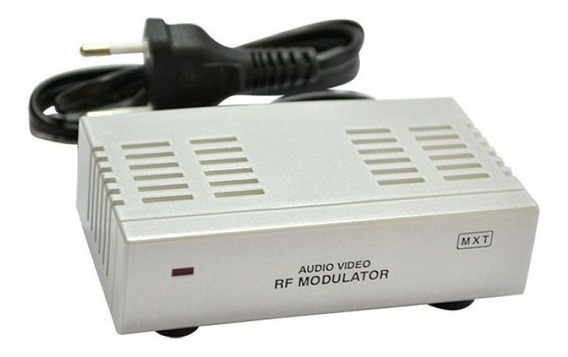 Modulador Rca Audio Video Para Rf - Original Mxt