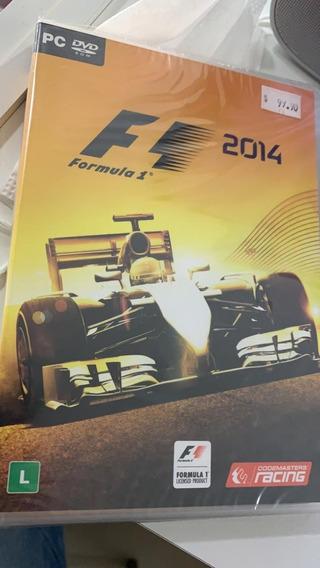 F1 2014 Pc Midia Fisica Original Lacrado