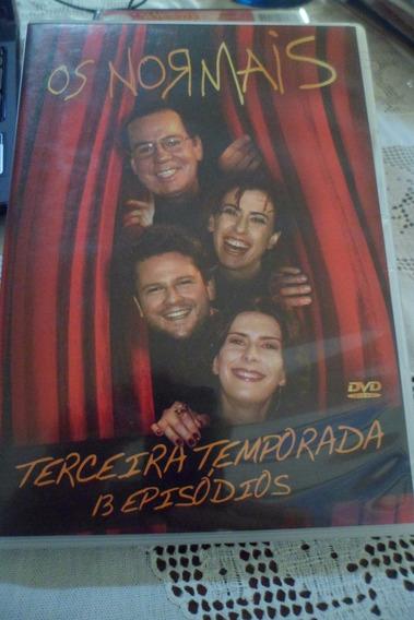 Dvd Os Normais - 3ª Temporada- Frete Grátis