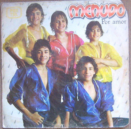 Menudo  Por Amor, Lp Vinilo Disco