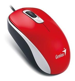Mouse Optico Genius Dx110 Usb - Varios Colores