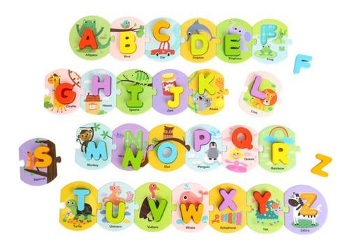 Imagen 1 de 5 de Puzzle Alfabético Escritura