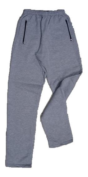 Pantalón Jogging Recto Friza 100% Algodón Talles S Al Xl