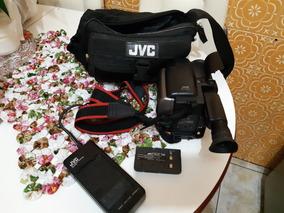Filmadora Jvc Vhs C Gr Axm4u C/ Acessórios Parcial Leia