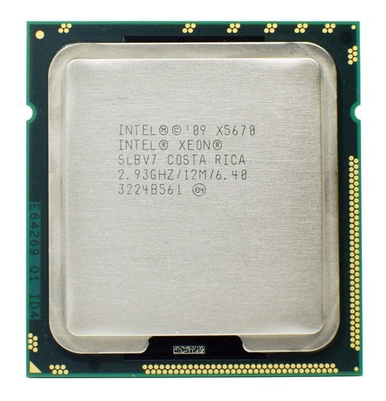Processador Intel Xeon Six-core X5670 2.93ghz 12mb Cache