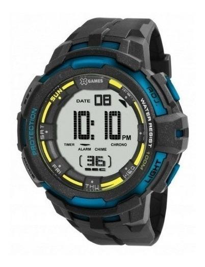 Relógio X-games Digital Masculino Preto Xmppd350 Bxpx