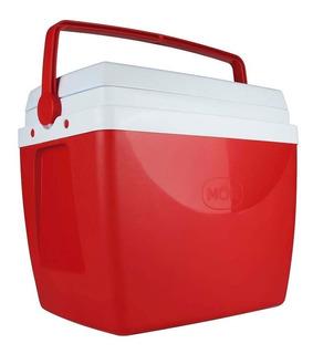 Caixa Térmica 34 Litros Cooler Com Alça E Porta Copos - Mor
