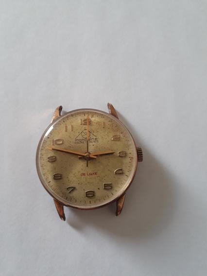Relógio Mondaine A Corda - Antigo