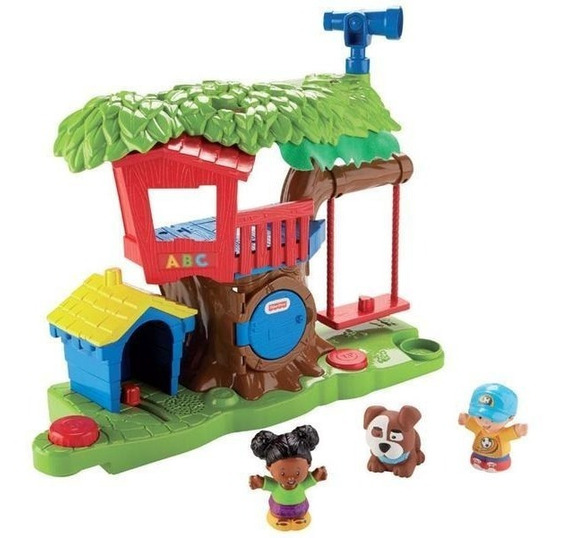 Little People Surtido De Playsets Casa Del Árbol Y Mercado -