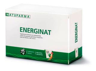 Energinat Natufarma X60 Comp Guarana Ginseng Magnesio S/tacc
