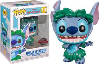 Hula Stitch - Ed. Esp. #718 - Funko Pop Disney - Collectoys