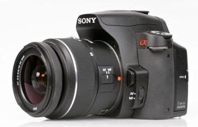 Câmera Digital Semi Profissional Sony A390 + Brinde