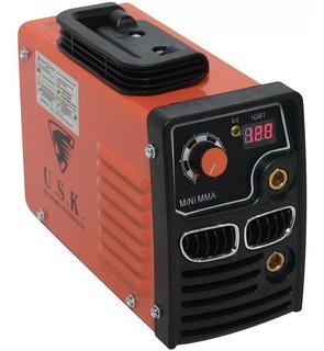 Máquina De Solda Inversora 140amp. Mono Mma-241 - Usk