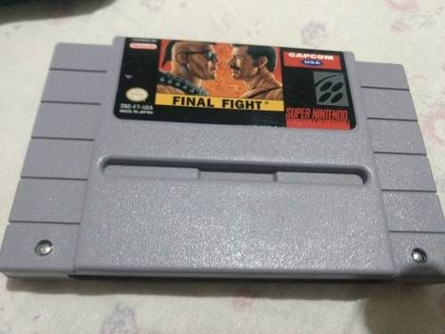 Final Fight Snes,original Pronta Entrega Envio Imediato