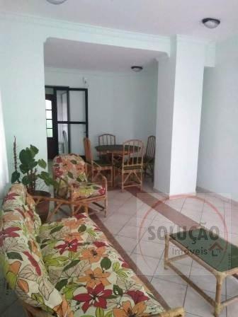 Imagem 1 de 10 de Apartamento A Venda No Bairro Vila Tupi Em Praia Grande - - 633-1