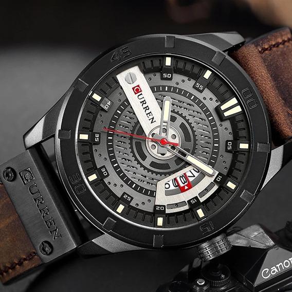 Relógio Masculino Curren Original Militar Importado Luxo