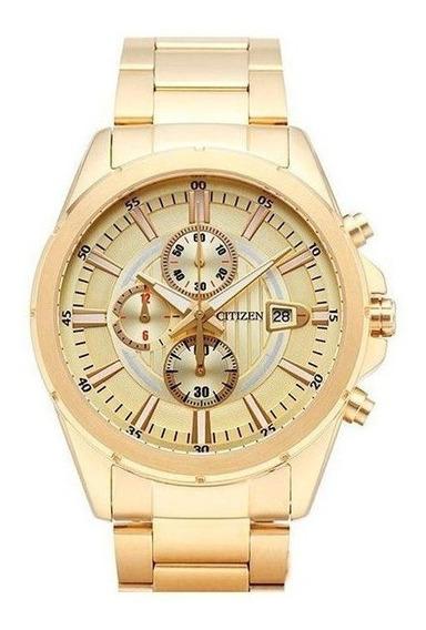 Relógio Citizen Masculino Dourado Tz20420g