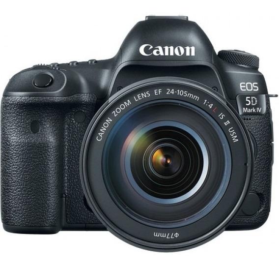 Kit Câmera Canon 5d Mark Iv 24-105mm F/4 L Is Ii Loja Barato